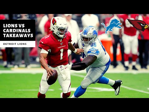 Lions VS Cardinals Takeaways! 27-27 Tie?! Detroit Lions Talk