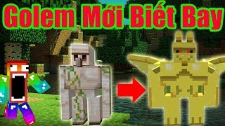 Minecraft: GOLEM BIẾT BAY ? 7 LOÀI IRON GOLEM MỚI TRONG MINECRAFT