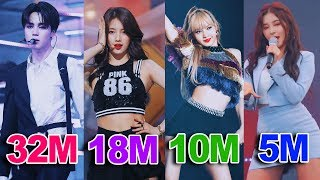 The Most VIEWED K-Pop FANCAMS of All Time