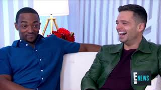 Sebastian Stan and Anthony Mackie Being Best Friend Goals for 5 minutes Straight!