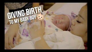 GIVING BIRTH TO MY BABY BOY | Naomi Neo