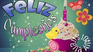 Happy Birthday (Spanish Version)
