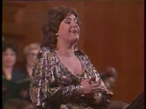 Elena Obraztsova sings Sei nicht bös from Zeller's Der Obersteiger
