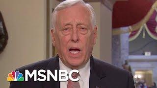 Rep. Hoyer: Conyers Should Resign If Harassment Allegations Are Founded | Andrea Mitchell | MSNBC