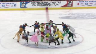 2017 Champion! VIRGINIA ICE BOX Ensemble - 10th Annual National Theatre On Ice Competition