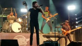 Chris Janson at Dodge County Fair 2018 - new one w/ Kid Rock