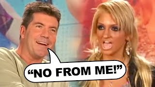 """Simon Cowell Clashes With Christina Aguilera """"Sound-alike"""" on American Idol!"""