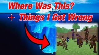Minecraft Iceberg 2: The Missing Entries