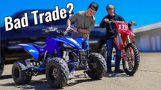 Worst Craigslist Trade Ever: Dirt Bike for Quad