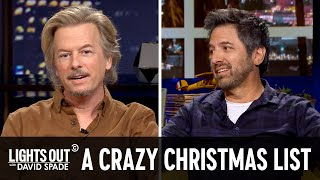 Terrible Christmas Lists (feat. Ray Romano) - Lights Out with David Spade