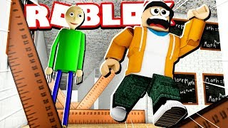*NEW* BALDI'S SCHOOLHOUSE OBBY ESCAPE! (Deadly Rulers EVERYWHERE!)