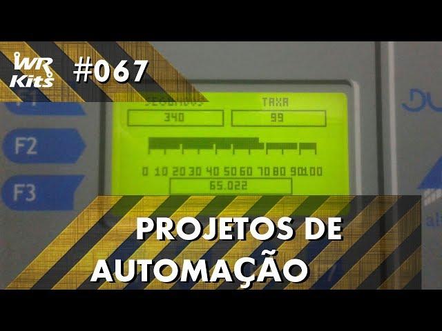 CONTROLE DE TANQUE POR IHM COM CLP ALTUS DUO | Projetos de Automação #067