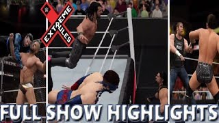 WWE 2K17 EXTREME RULES 2017 FULL SHOW - PREDICTION HIGHLIGHTS