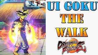 Dragon Ball FighterZ - UI Goku can defeat attacks just by walking through them! Lets take a look!