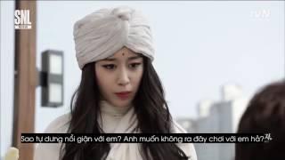 (Vietsub)- Bạn gái 3 phút T-ARA SNL
