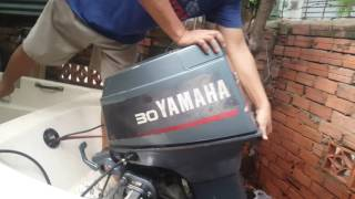 Test cano yamaha 30hp