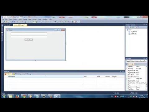 شرح صنع برنامج بالفجيول بسك للنمبز/Explanation of making a Visual Basic for nimbuzz