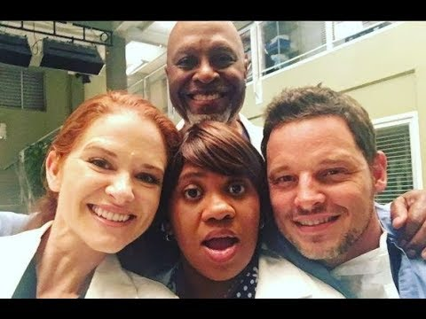 Grey's Anatomy Characters - Behind the scenes (Funny and Sweet moments)