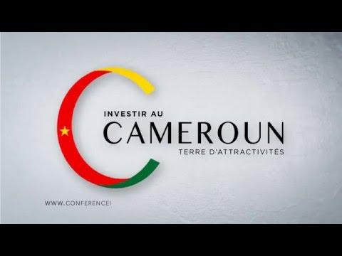 Spot de la Conférence Investir au Cameroun - Terre d'Attractivités