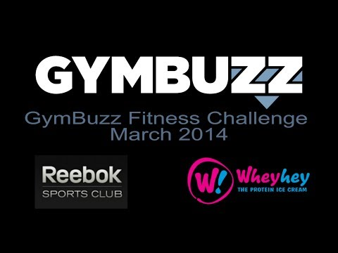 The GymBuzz Fitness Challenge - March 2014