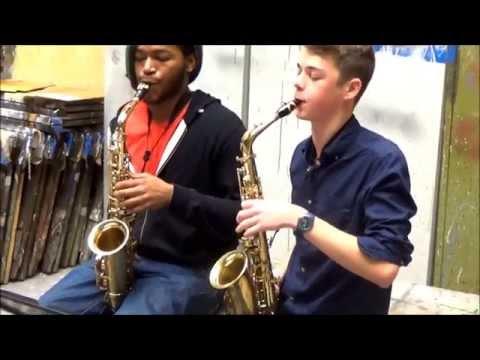 Sax Duet - Swanky