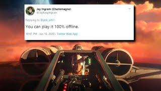 Star Wars Squadrons - OFFLINE MASSIVE FLEET BATTLES CONFIRMED (NEW SINGLE-PLAYER MODE PLAYABLE!)