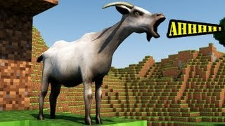 MINECRAFT GOAT SIMULATOR! (3D Animation)