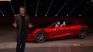 Tesla Roadster Reveal 2017 - WOW WHAT A FAST CAR!!!!!!!!! DUE OUT IN 2020