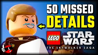 50 Details and Easter Eggs - NEW Lego Star Wars Gameplay