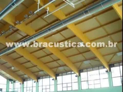 Condicionamento e ambientação acústica de recintos