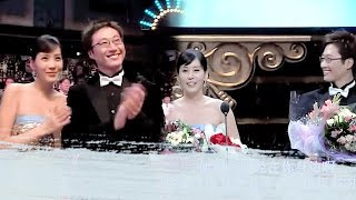 【Awards】SBS Drama Awards 2004 | Park Shin Yang 박신양 ; Kim Jung Eun 김정은 ; Lee Dong Gun 이동건 (cut)