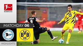 Arminia Bielefeld - Borussia Dortmund   0-2   Highlights   Matchday 6 – Bundesliga 2020/21