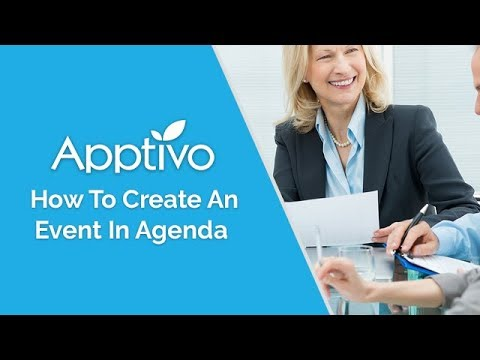 How do I create an event in Agenda?