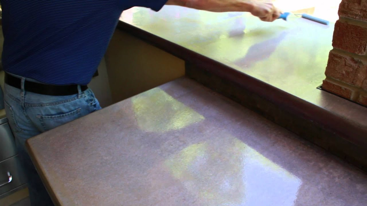 How To Seal And Polish Your Concrete Countertops Z