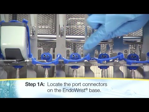 How To Load and Unload the da Vinci® EndoWrist® Washer Rack