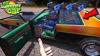 My Summer Car - 1000 BOTTLES OF BEER