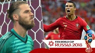 Bản tin BongDa ngày 16/06 | Ronaldo lập hattrick, De Gea hóa tội đồ