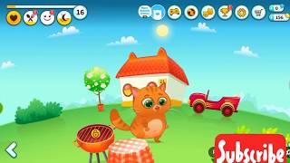 😱😱😰MY CUTE CAT BUBBU🐱🐱😵😱😱amazing game for little baby😁kids DIANA show