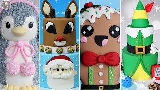 AMAZING HOLIDAY CAKE COMPILATION! | Christmas Cakes