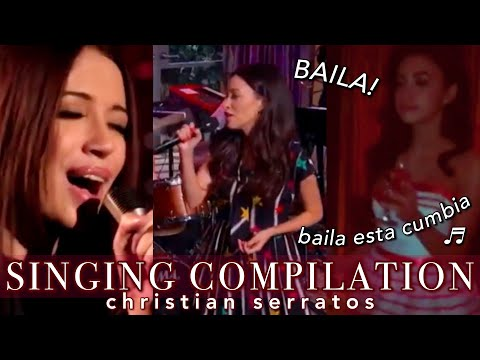 CHRISTIAN SERRATOS SINGING COMPILATION! - serratos daily