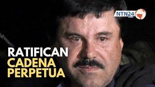 Un juez federal de Nueva York ratifica la cadena perpetua para «El Chapo» Guzmán