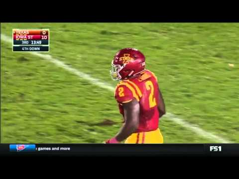 Texas at Iowa State | 2015 Big 12 Football Highlights