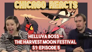 HELLUVA BOSS The Harvest Moon Festival Episode 5 by Vivziepop | Chicago Crew Reacts