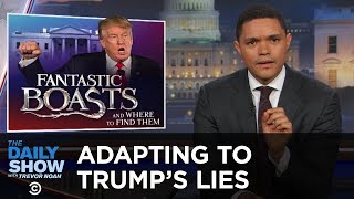 Adapting to Donald Trump's Lies: The Daily Show