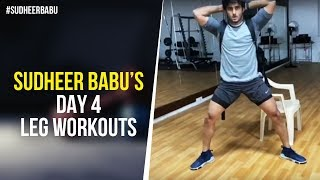 Sudheer Babu's 5 Day Home Workout - Day 4..