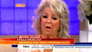 """Complete PAULA DEEN 'Today Show' Interview - 'I""""m Not A Racist"""" - 6/26/2013 [HIGH QUALITY!!] Full!"""