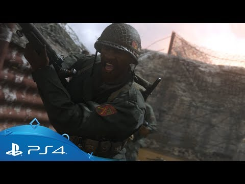 Call of Duty: WWII | Najava za igru s više igrača | PS4