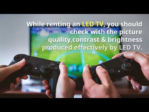 Why to choose LED TV Rental in Dubai at Techno Edge Systems LLC