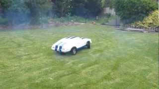 ford xc cobra coupe 1/3 scale rc car first run