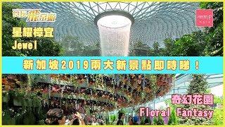 新加坡 2019 兩大新景點即時睇!星耀樟宜Jewel 奇幻花園 Floral Fantasy